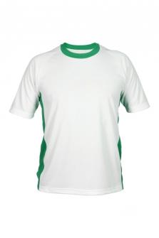 Футболка игровая   зел-бел